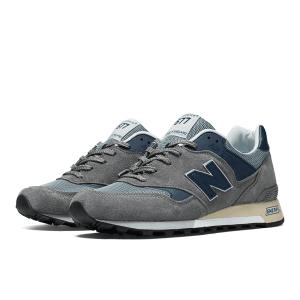 נעלי הליכה ניו באלאנס לגברים New Balance M577 - אפור/כחול