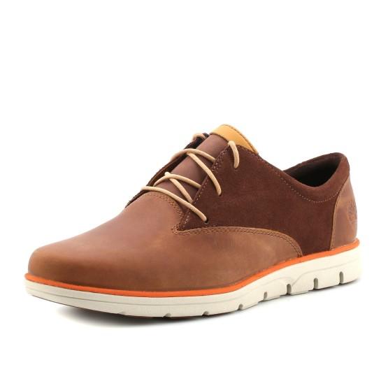 נעליים אלגנטיות טימברלנד לגברים Timberland Bradstreet Plain Toe Oxford - חום