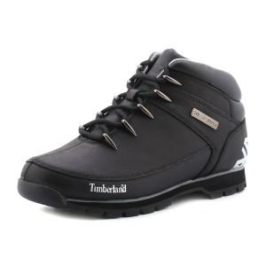 נעלי הליכה טימברלנד לגברים Timberland Euro Sprint Hiker - שחור/אפור