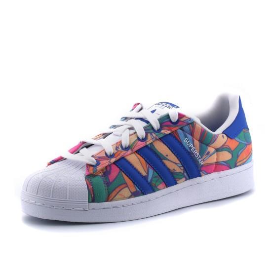 נעלי הליכה אדידס לנשים Adidas Superstar - צבעוני