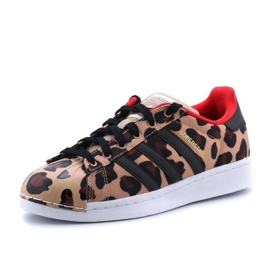 מוצרי אדידס לנשים Adidas Superstar J - מנומר