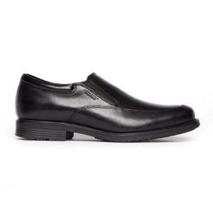 נעליים אלגנטיות רוקפורט לגברים Rockport Essential DTL WP Slip On - שחור