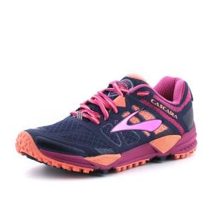 נעליים ברוקס לנשים Brooks Cascadia 11 - ורוד/כחול