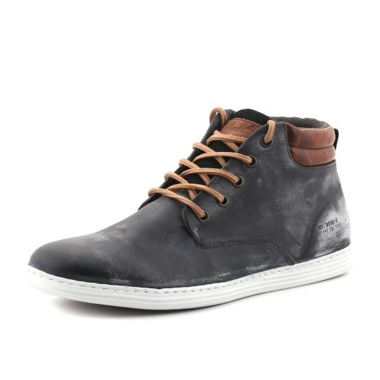 נעליים אלגנטיות בולבוקסר לגברים Bullboxer Jimmy - שחור
