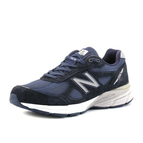 נעליים ניו באלאנס לגברים New Balance M990 V4 - כחול כהה
