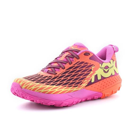 נעליים הוקה לנשים Hoka One One Speed Instinct - ורוד/כתום