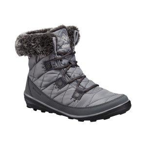 נעליים קולומביה לנשים Columbia Heavenly Shorty Omni Heat - אפור