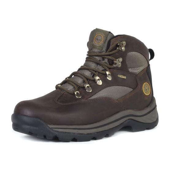 נעלי הליכה טימברלנד לגברים Timberland Chocorua Trail Mid Waterproof - חום כהה