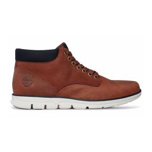 נעליים אלגנטיות טימברלנד לגברים Timberland Bradstreet Plain Toe Chukka - חום