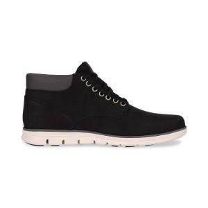 נעליים אלגנטיות טימברלנד לגברים Timberland Bradstreet Plain Toe Chukka - שחור/אפור