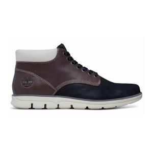 נעליים אלגנטיות טימברלנד לגברים Timberland Bradstreet Plain Toe Chukka - חום/שחור
