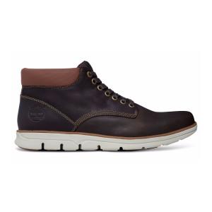 נעליים אלגנטיות טימברלנד לגברים Timberland Bradstreet Plain Toe Chukka - חום כהה