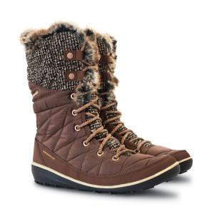 מגפיים קולומביה לנשים Columbia Heavenly Omni Heat Knit - חום