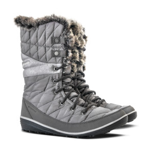 מגפיים קולומביה לנשים Columbia Heavenly Omni Heat - אפור