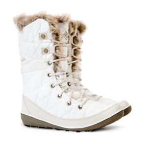 מגפיים קולומביה לנשים Columbia Heavenly Omni Heat - לבן