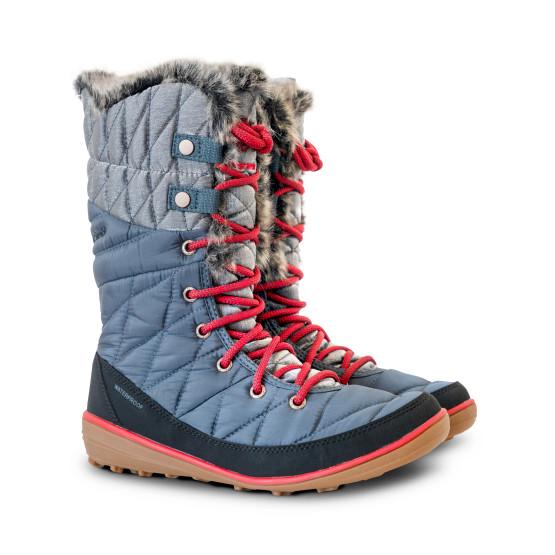 מגפיים קולומביה לנשים Columbia Heavenly Omni Heat Organza - אפור/כחול