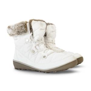 מגפיים קולומביה לנשים Columbia Heavenly Shorty Omni Heat - לבן