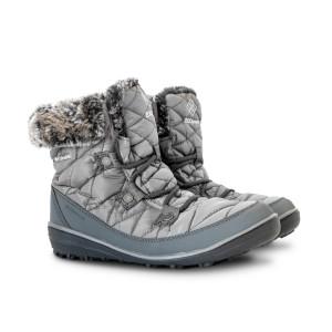 מגפיים קולומביה לנשים Columbia Heavenly Shorty Omni Heat - אפור
