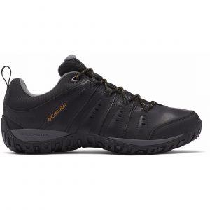 נעלי טיולים קולומביה לגברים Columbia WOODBURN II WATERPROOF - שחור