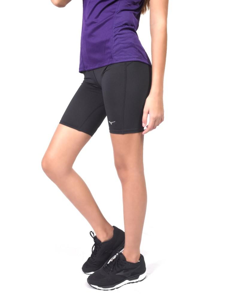 מוצרי מיזונו לנשים Mizuno DryLite Core Mid Tights - שחור מלא