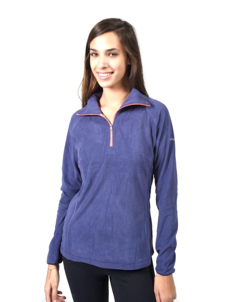 מוצרי קולומביה לנשים Columbia Glacial III Half Zip - כחול