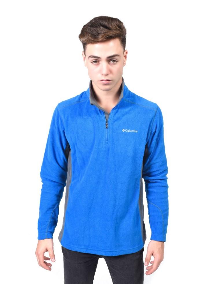 מוצרי קולומביה לגברים Columbia Klamath Range II Half Zip - כחול