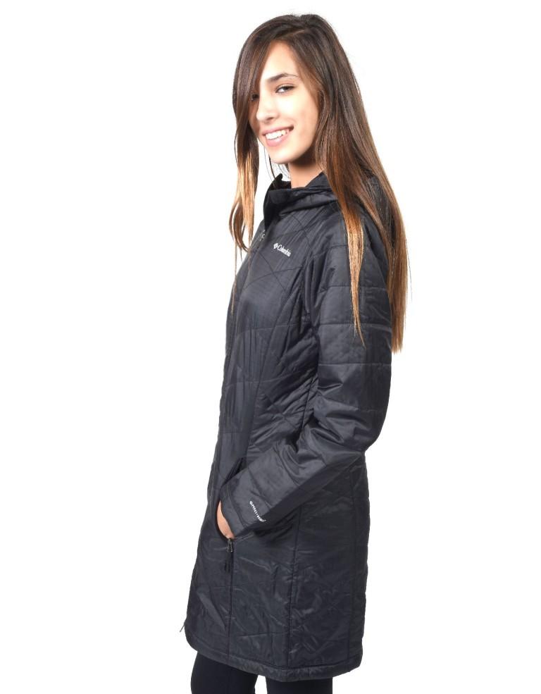 מוצרי קולומביה לנשים Columbia Mighty Lite Hooded - שחור