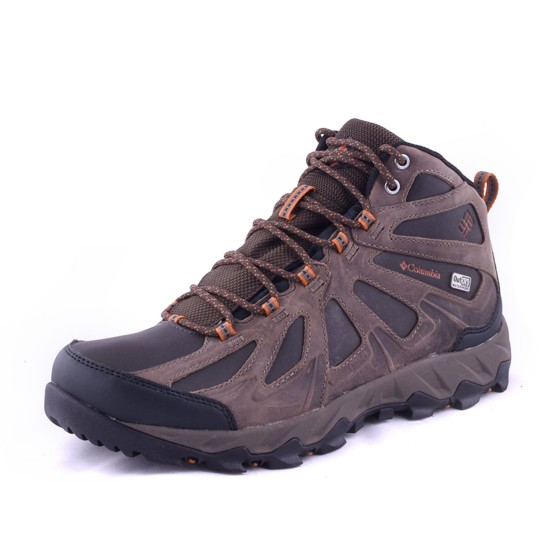 מוצרי קולומביה לגברים Columbia Peakfreak Xcrsn II Mid Leather Outdry - חום