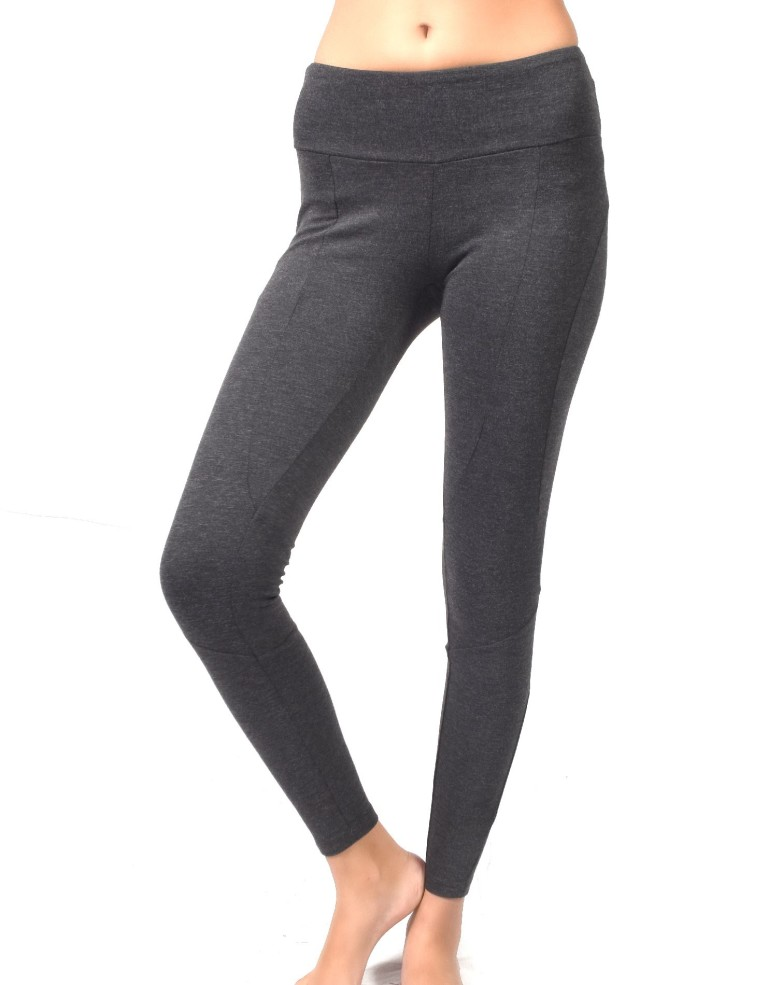 בגדי חורף Prana לנשים Prana Moto Legging - אפור כהה