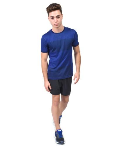 מוצרי ברוקס לגברים Brooks Streaker Short Sleeve - כחול
