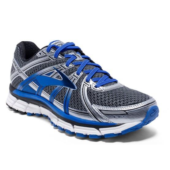נעליים ברוקס לגברים Brooks Adrenaline GTS 17 - אפור