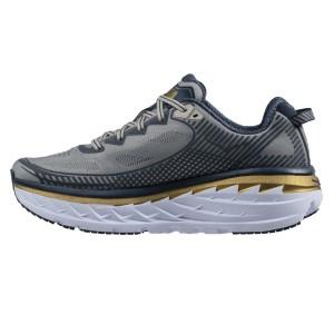 נעליים הוקה לגברים Hoka One One Bondi 5 Wide - אפור/כחול