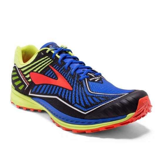 נעליים ברוקס לגברים Brooks Mazama - כחול/צהוב