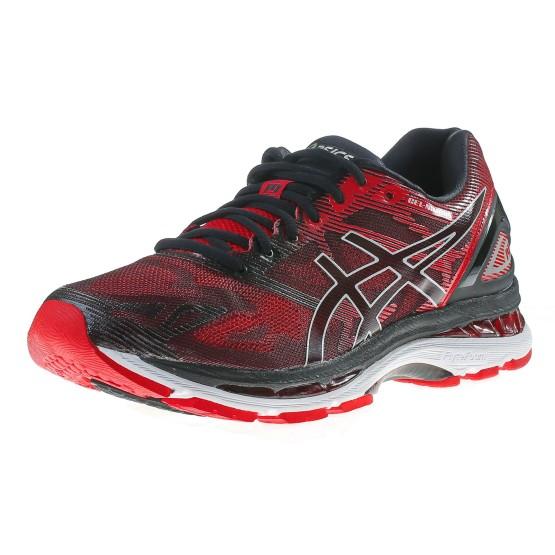 נעלי אסיקס לגברים Asics Gel-Nimbus 19 - שחור/אדום