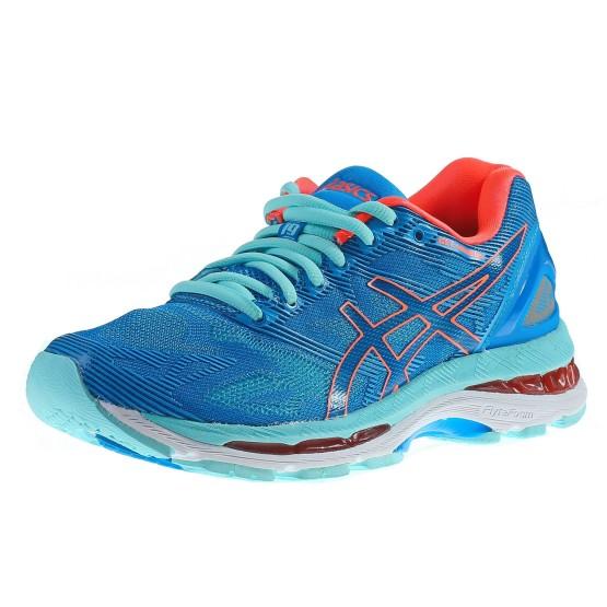 נעלי אסיקס לנשים Asics Gel-Nimbus 19 - תכלת