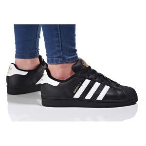נעליים אדידס לנשים Adidas Superstar Foundation J - שחור/לבן