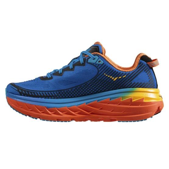 נעליים הוקה לגברים Hoka One One Bondi 5 - כחול/כתום