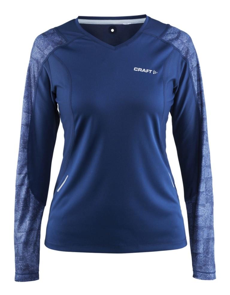 בגדי חורף Craft לנשים Craft Devotion Shirt - כחול כהה