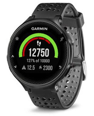שעוני ספורט גרמין לנשים Garmin Forerunner 235 - שחור/אפור