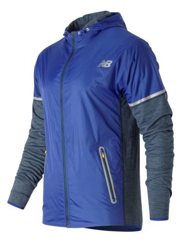בגדי חורף ניו באלאנס לגברים New Balance MJ61209 - אפור/כחול