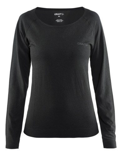 מוצרי Craft לנשים Craft Seamless Touch Long Sleeve - שחור
