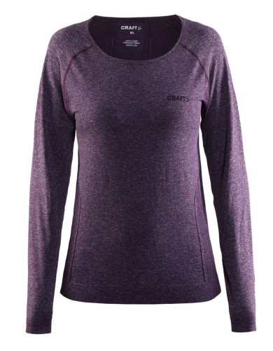 בגדי חורף Craft לנשים Craft Seamless Touch Long Sleeve - סגול