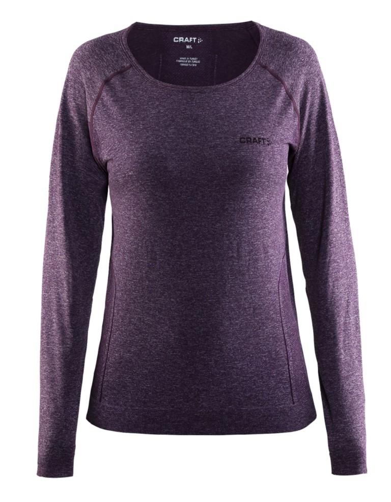 בגדי חורף Craft לנשים Craft Seamless Touch Long Sleeve - סגול
