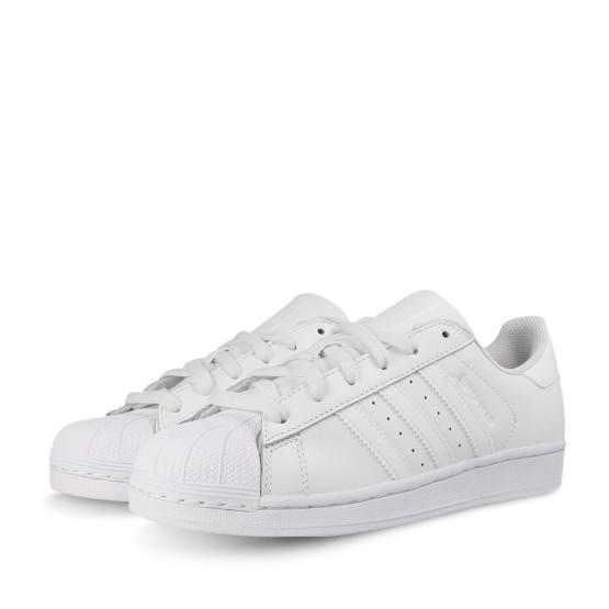נעלי הליכה Adidas Originals לנשים Adidas Originals Superstar - לבן מלא