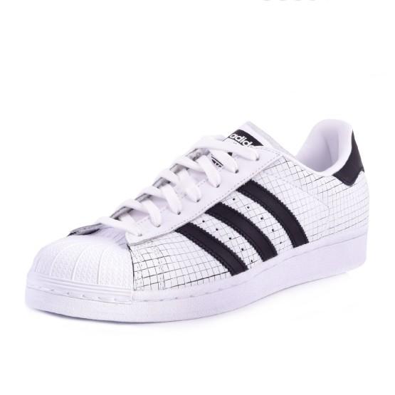 מוצרי אדידס לגברים Adidas Superstar - שחור/לבן