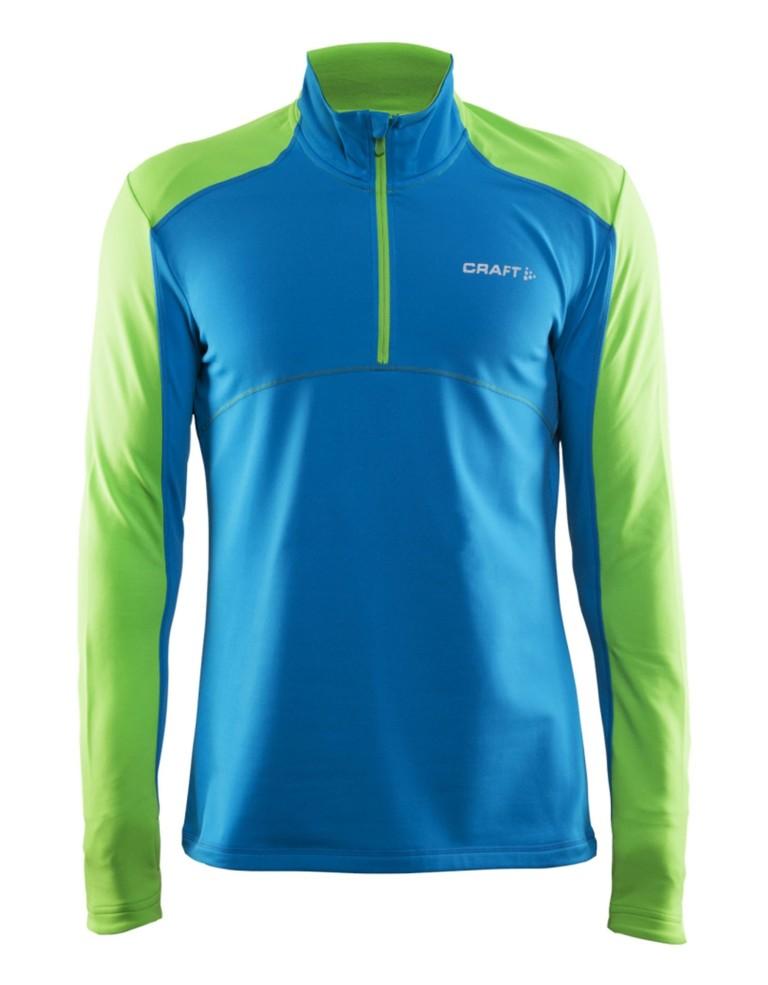 מוצרי Craft לגברים Craft Thermal Halfzip Pullover - כחול/ירוק