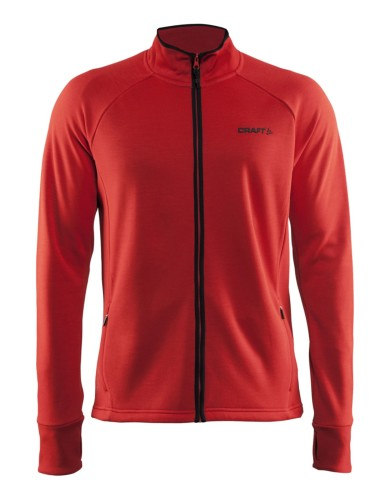 מוצרי Craft לגברים Craft Warm Jacket - אדום