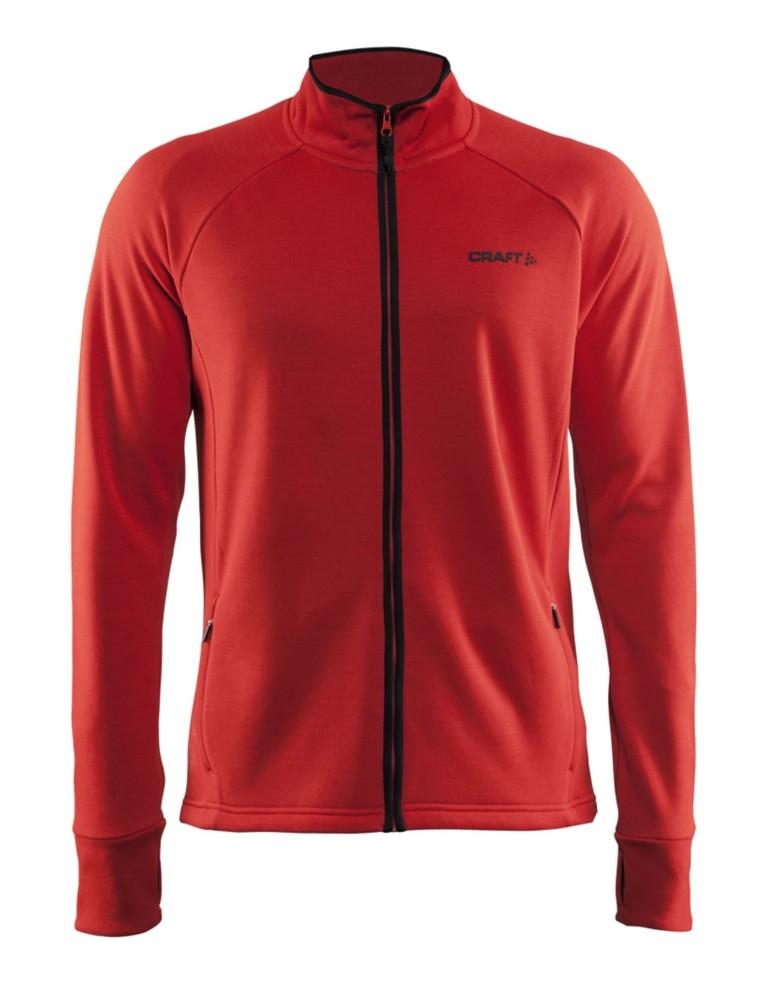 בגדי חורף Craft לגברים Craft Warm Jacket - אדום