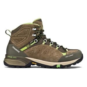 נעלי הליכה Tecnica לגברים Tecnica T-Cross High GTX - חום/ירוק