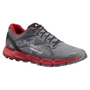 נעליים קולומביה לגברים Columbia Caldorado II - אפור/אדום